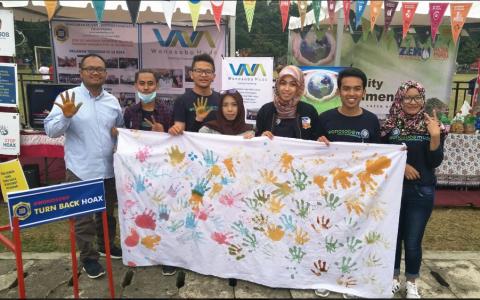 Wonosobo Muda di Festival Merdeka 2017