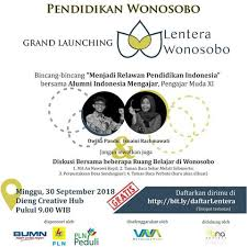 "Grand Launching ""Lentera Wonosobo"" di Empat Desa Wonosobo"