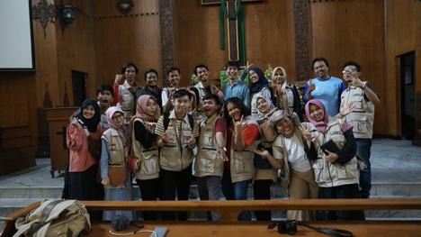 Wonosobo Muda menjadi Partner Lokal Kegiatan Jelajah Toleransi